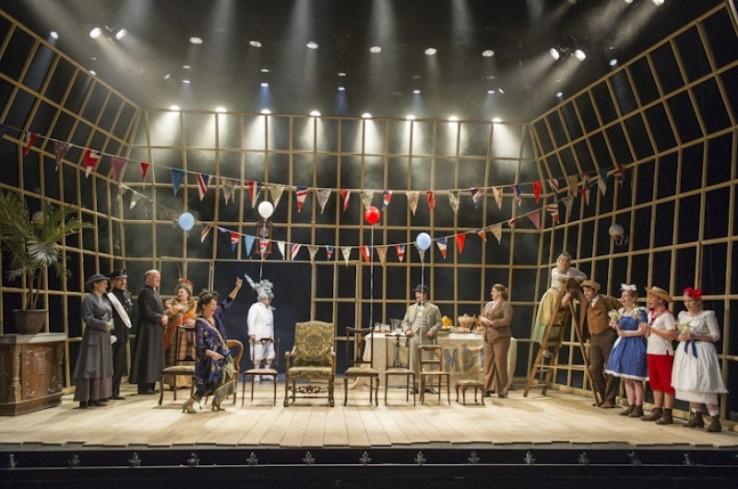 Albert Herring Theatre Set