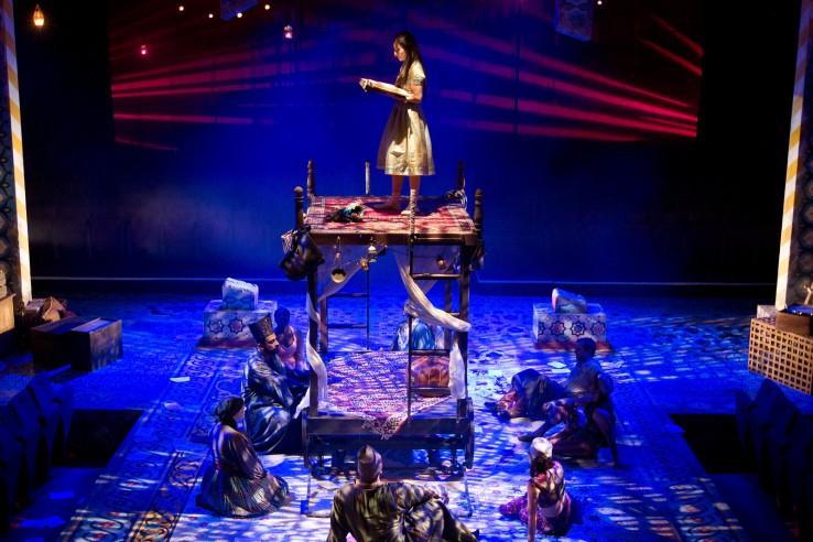Arabian Nights Stage Set