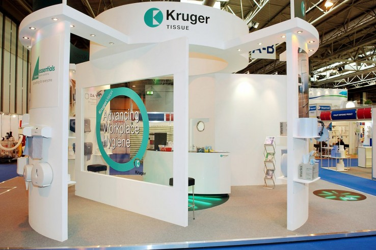 Exhibition Stand Projects : Kruger setfree projects