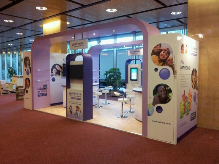 Exhibition Stand Projects : Nutricia setfree projects