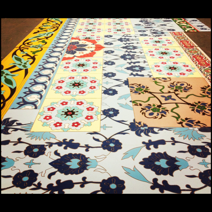 Arabian Flooring Design