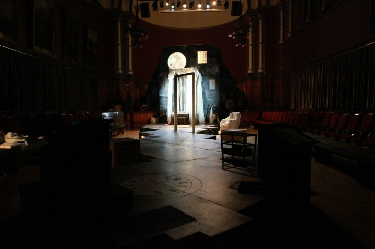 A Christmas Carol Theatre stage set