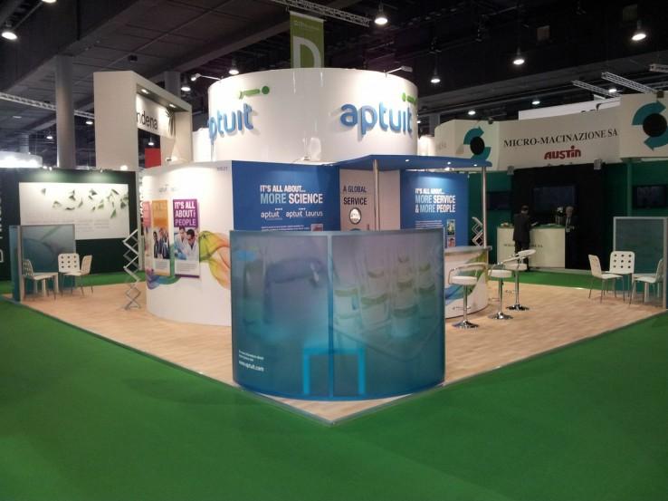 Aptuit Exhibition Stand