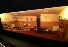 Bruised Theatre Stage Set