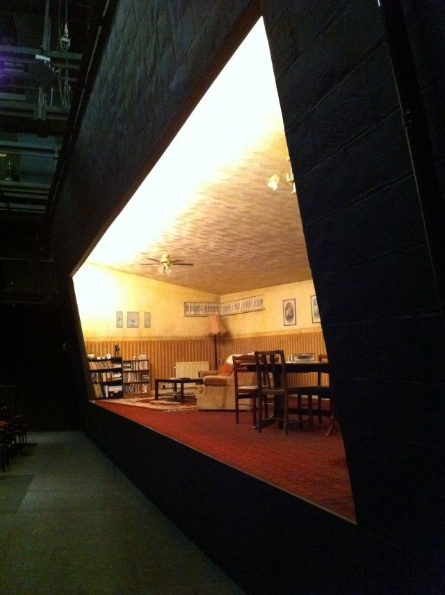 Bruised Theatre Stage Set