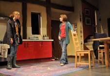 The Heretic Theatre set